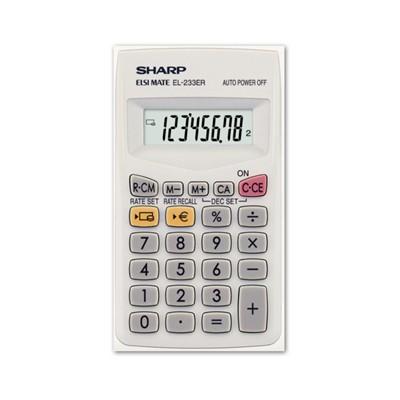 Sharp EL-233ER zsebszámológép