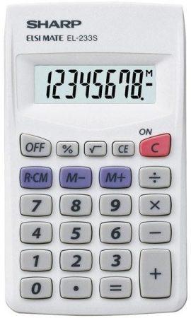 Sharp EL-233S zsebszámológép