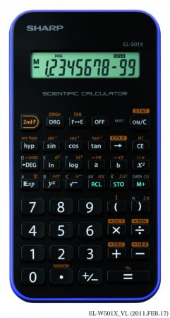 Sharp EL-501XVL tudományos számológép