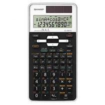 Sharp EL-506TS-WH Színes tudományos számológép, Fekete-fehér