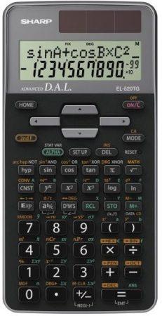 Sharp EL-520TG-GY Színes tudományos számológép