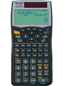 Sharp EL-W506B tudományos számológép - Legújabb csúcsmodel!