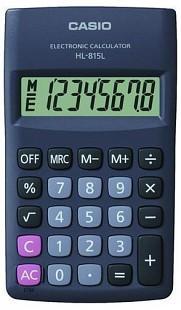 Casio HL-815L BK fekete számológép