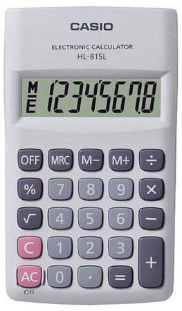 Casio HL-815L WE fehér zsebszámológép