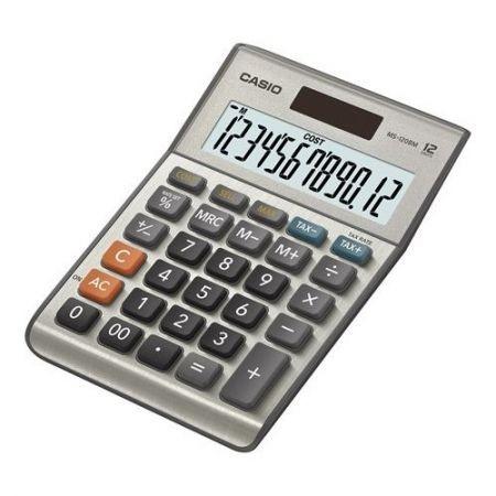 Casio MS-120 B MS-asztali számológép
