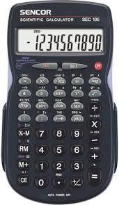 SENCOR SEC 195 tudományos számológép