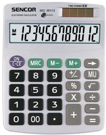 SENCOR SEC 367/12 asztali számológép